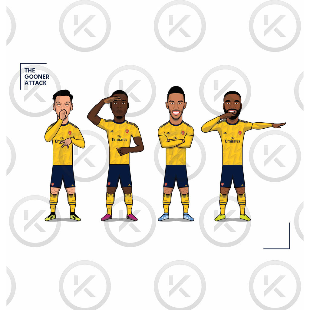 The Gooner Attack - (Ozil, Pepe, Aubameyang, Lacazette) **2019/20**