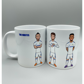 The Whites (Harrison, Bamford & Raphinha) - Drinking Mug