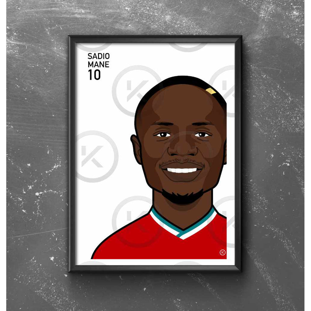 Sadio Mane - Portrait