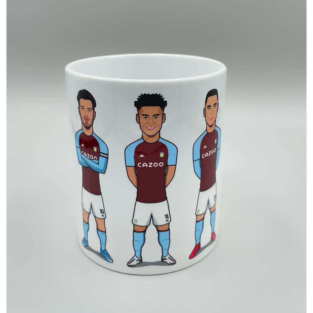 The Villa (Grealish, Watkins, El Ghazi) - Drinking Mug