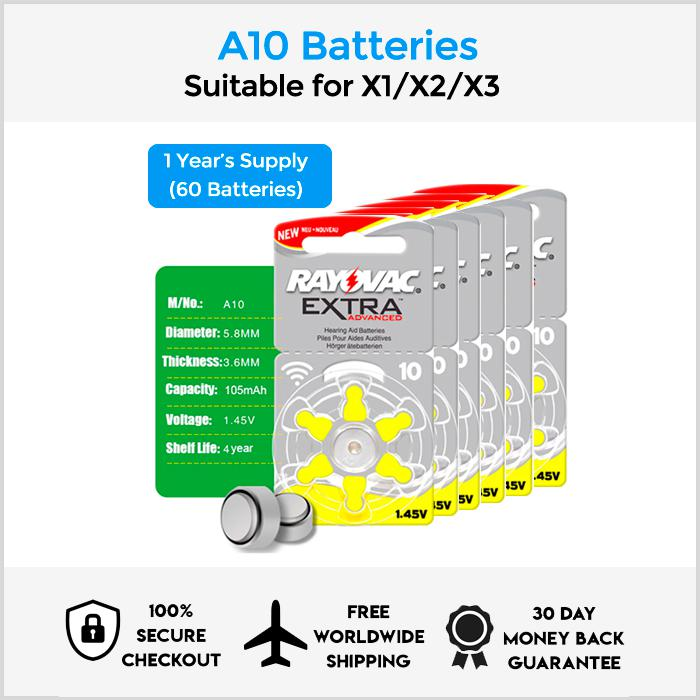 A10 Battery Packs
