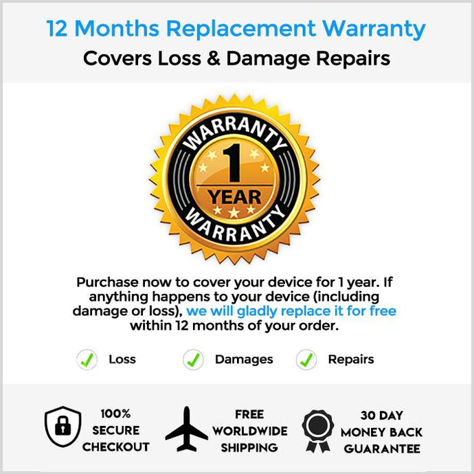 12 Months Extended Replacement Warranty