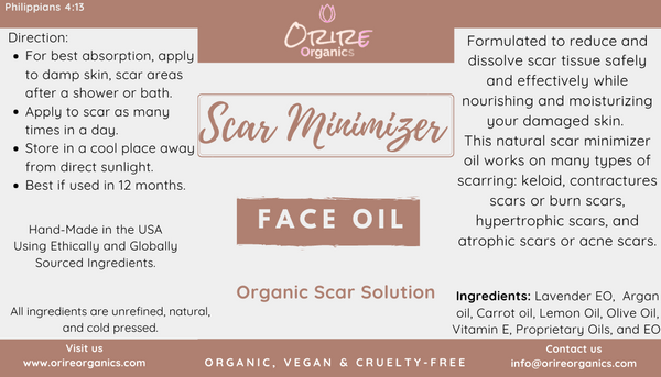 Scar Minimizer Oil (Face & Body)