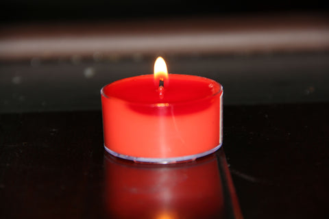 Flower Scented Tea Light Soy Candle