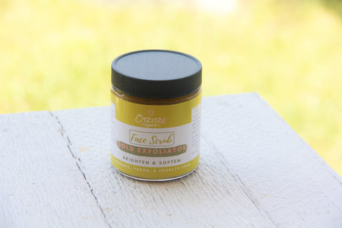 Gold Exfoliator Face Mask