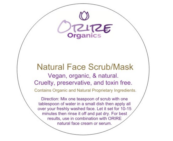 Face Mask/Scrub