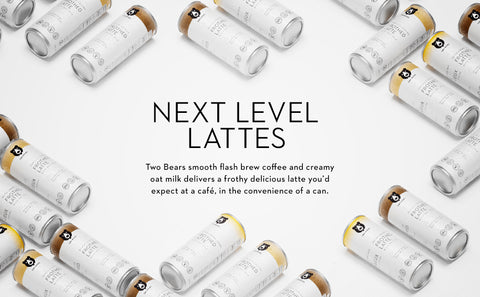 Two Bears Lattes Infographic