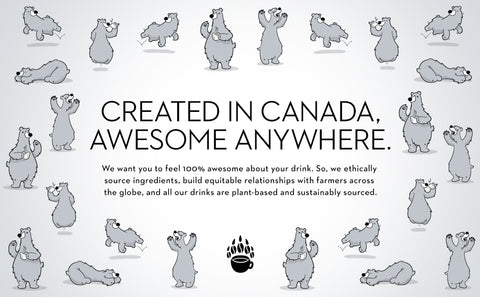 Oat milk made in Canada graphic