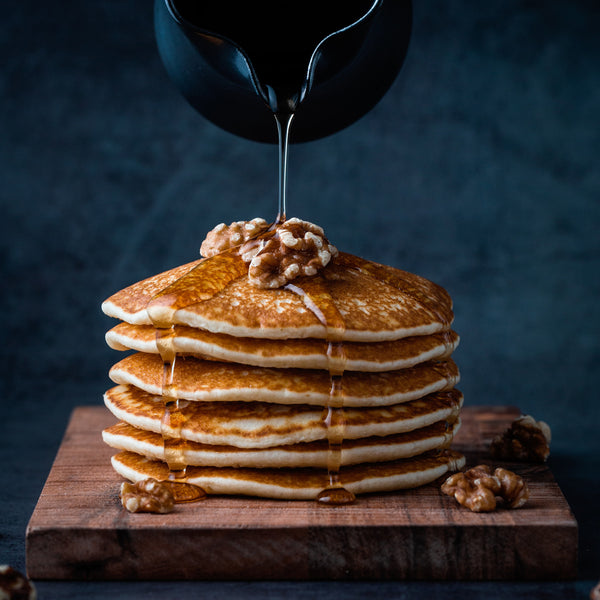 Vegan oat milk pancake recipe