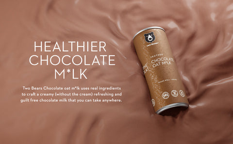 Two Bears Chocolate Oat Milk graphic
