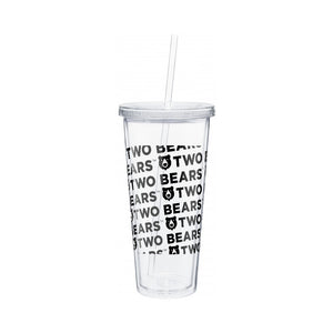 20 oz Double Wall Travel Tumbler with Straw