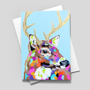 Canadian Animals Greeting Card Set of 4 - Blank Inside