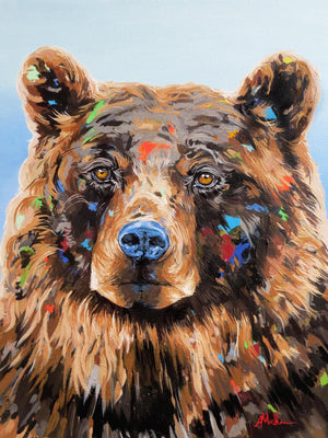 The Grizz - Canvas And Paper Prints