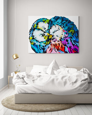 Love Birds - Canvas And Paper Prints
