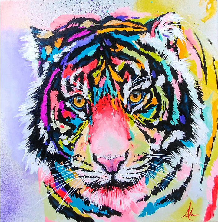 Endangered Beauty- Original Painting- $345.00