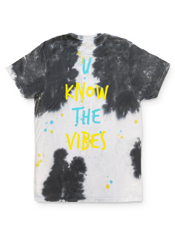 U know the vibes dye tee - SOLOFLOW BRAND