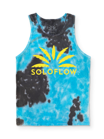 Soloflow Tie Dye U Know What It Is Tank Top