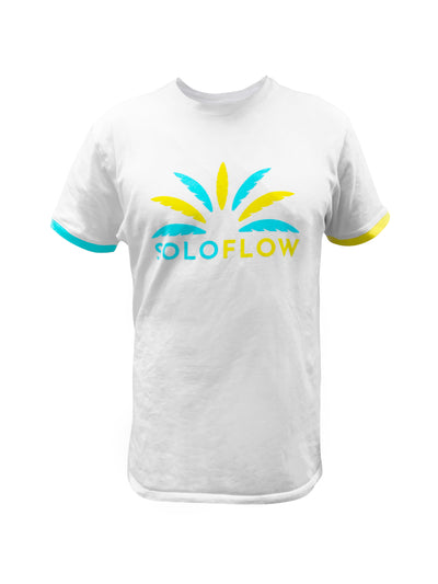 Mismatch Cuff Tee - Soloflow Brand Merch