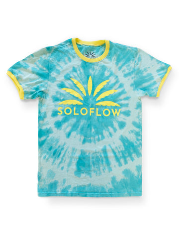 Sun Burst Tee (Blue) - Soloflow Brand Merch