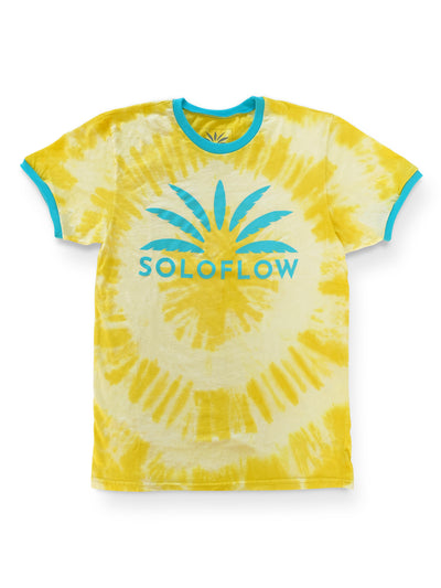 Sun Burst Tee (Yellow) - Soloflow Brand Merch