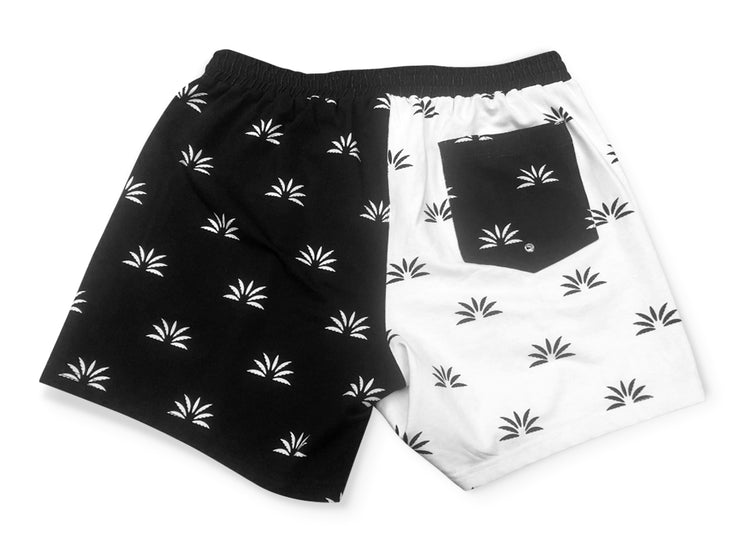 OG Black/White Mismatch Shorts