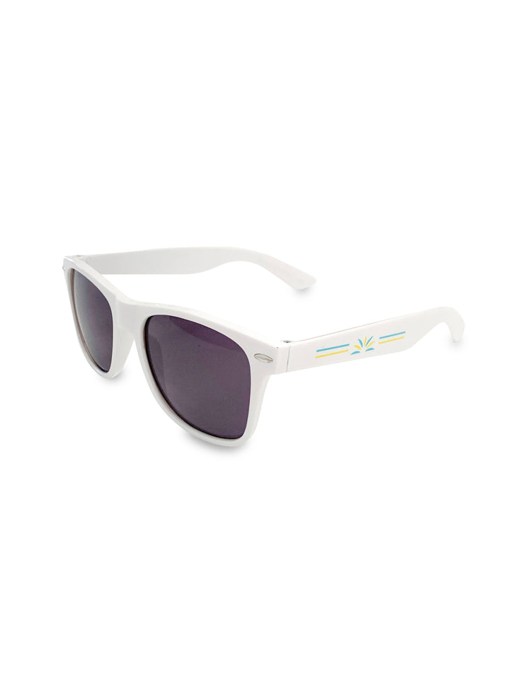Solo Shades (White)  - Soloflow Brand Merch