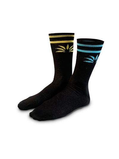Classic Mismatch Socks (Black) - Soloflow Brand Merch