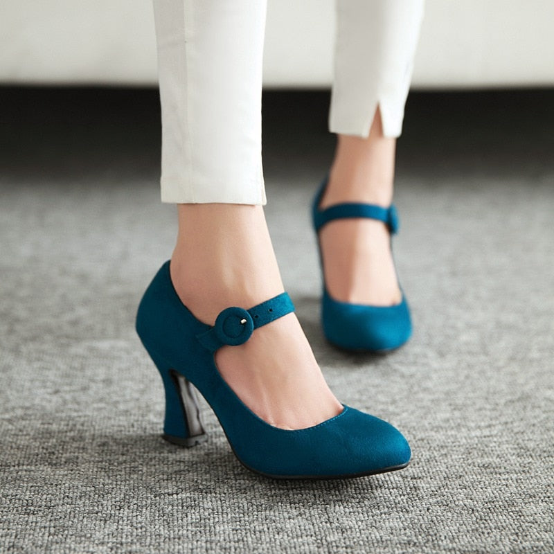MMOTB Thick High Heels Shoes