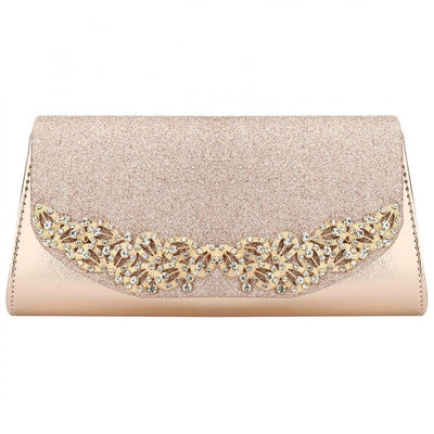 MMOTB  Champagne Wedding Clutch
