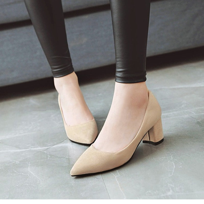 MMOTB Thick High Heels