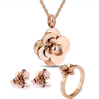 MMOTB Flower Jewelry Set