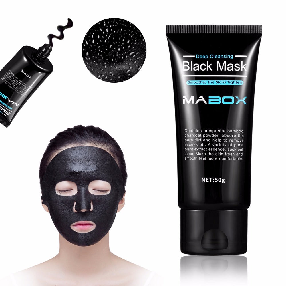 MMOTB Black Peel Bamboo Charcoal Mask