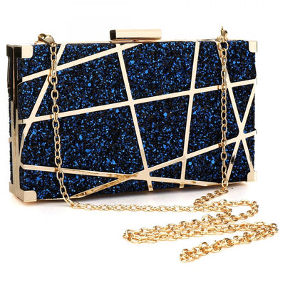MMOTB Gold Acrylic Chain Bag