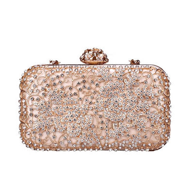 MMOTB  Diamond Rhinestone Clutch