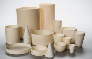 Accessories - Ceramic Crucibles - Circular Dishes
