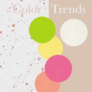Spring/Summer Color Trends