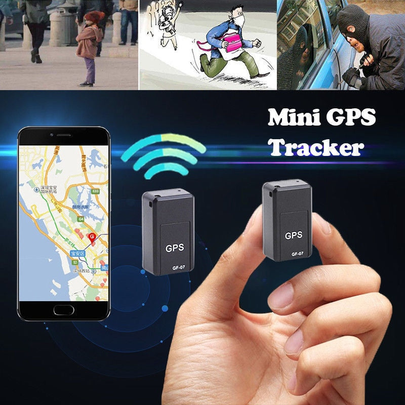 Mini GPS Tracker -Tracking Device Voice Control