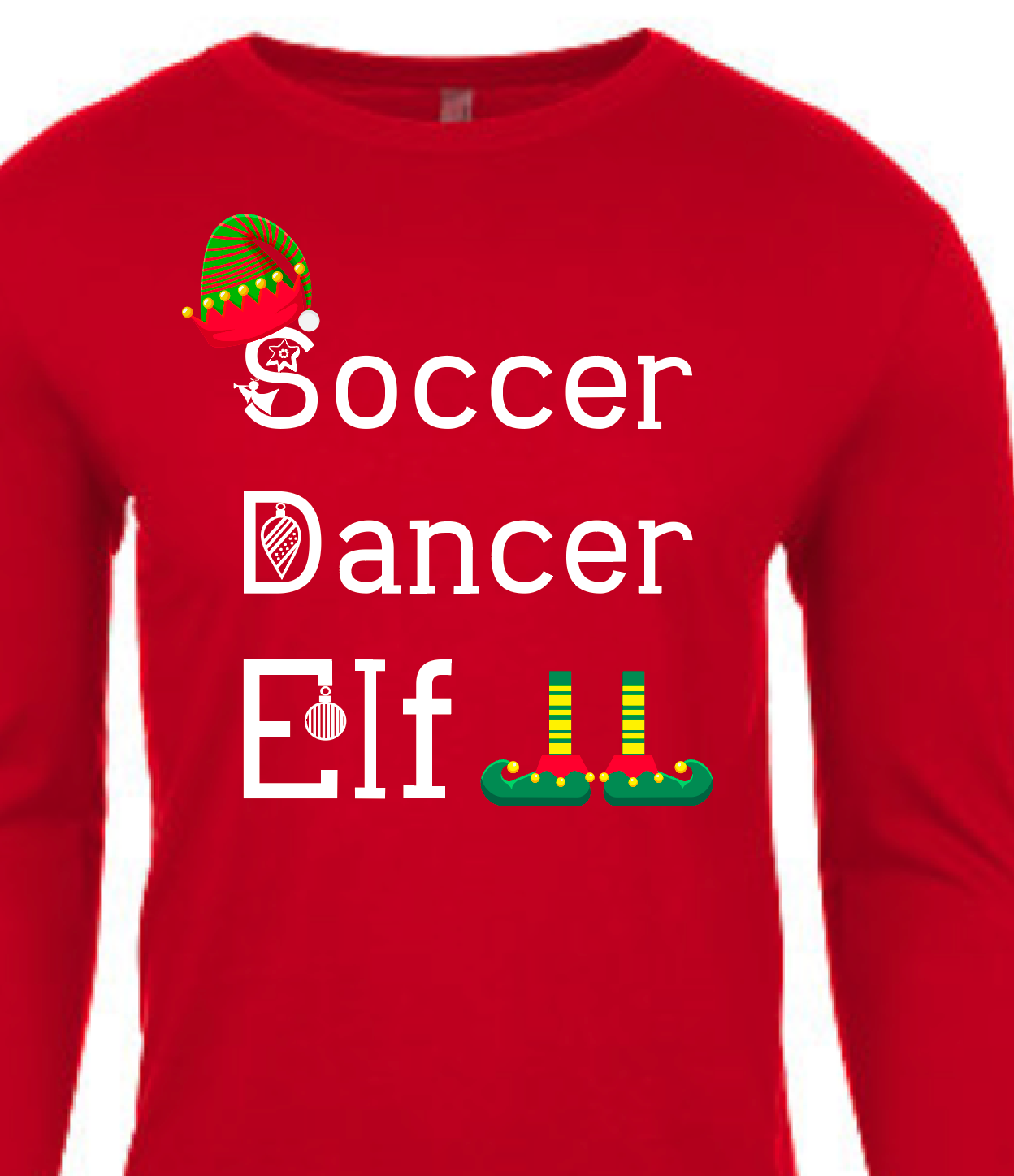 Elf Christmas Family Shirts Infant Toddler Youth Adult Customize Your Own