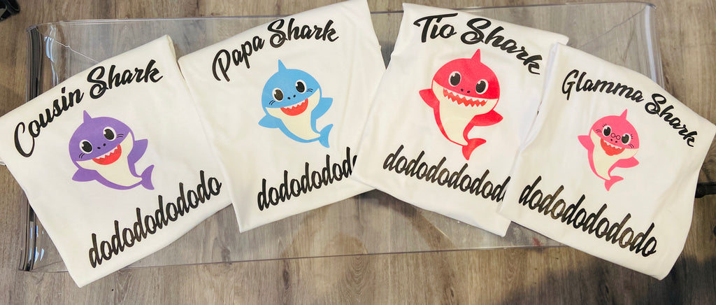 Baby Shark Birthday Shirts