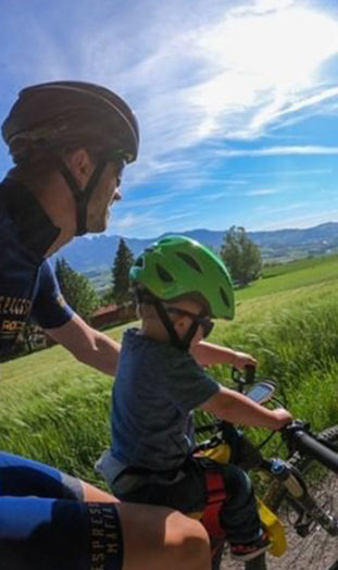 Forward facing child's bike seats – There's more to them than meets the eye