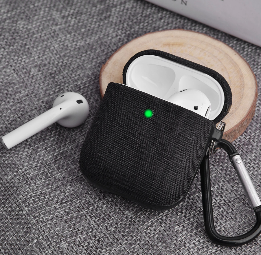 Cotton AirPods Case [1 & 2] + Dust Protector + Cleaning kit