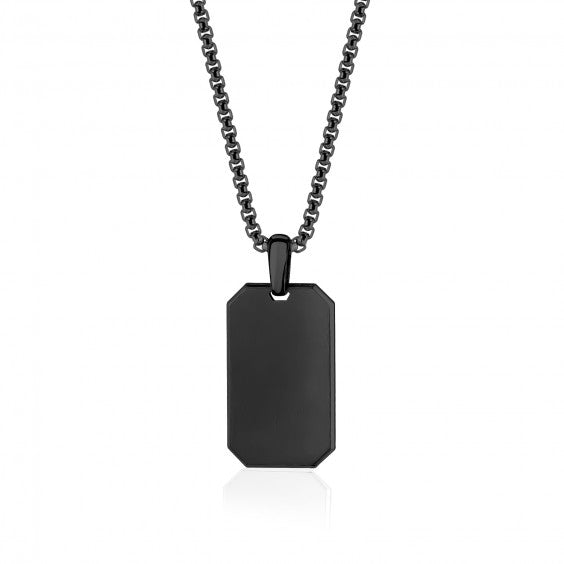 A.R.Z steel pendant in stainless steel AS-P105-26