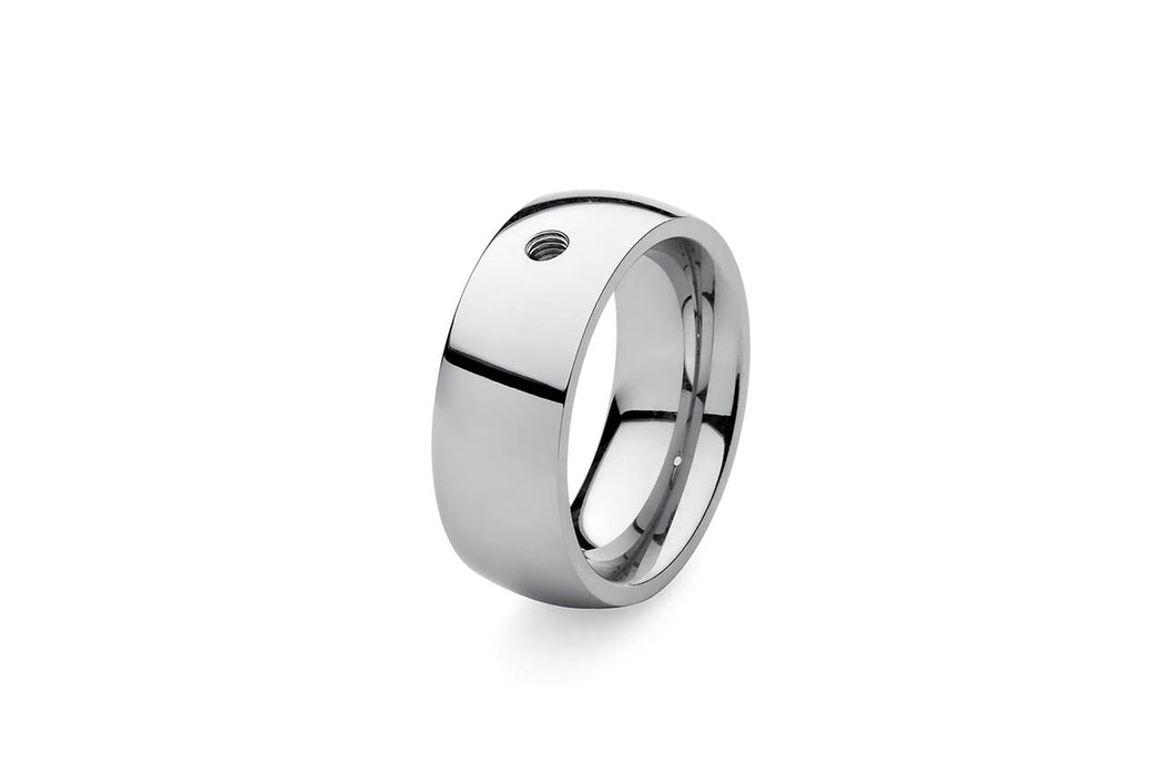 Qudo Basic ring Big blanc