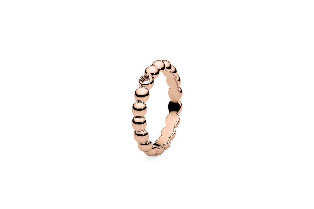 QUDO Basic ring Veroli rose