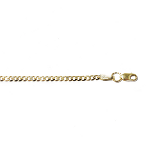 Bracelet Gourmette 2.5mm or Jaune