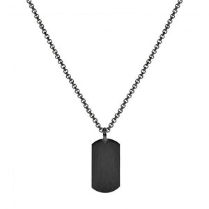 Collier A.R.Z. Steel 'Dog Tag' petit SSP191