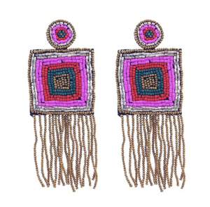 Beaded Tapestry Drops