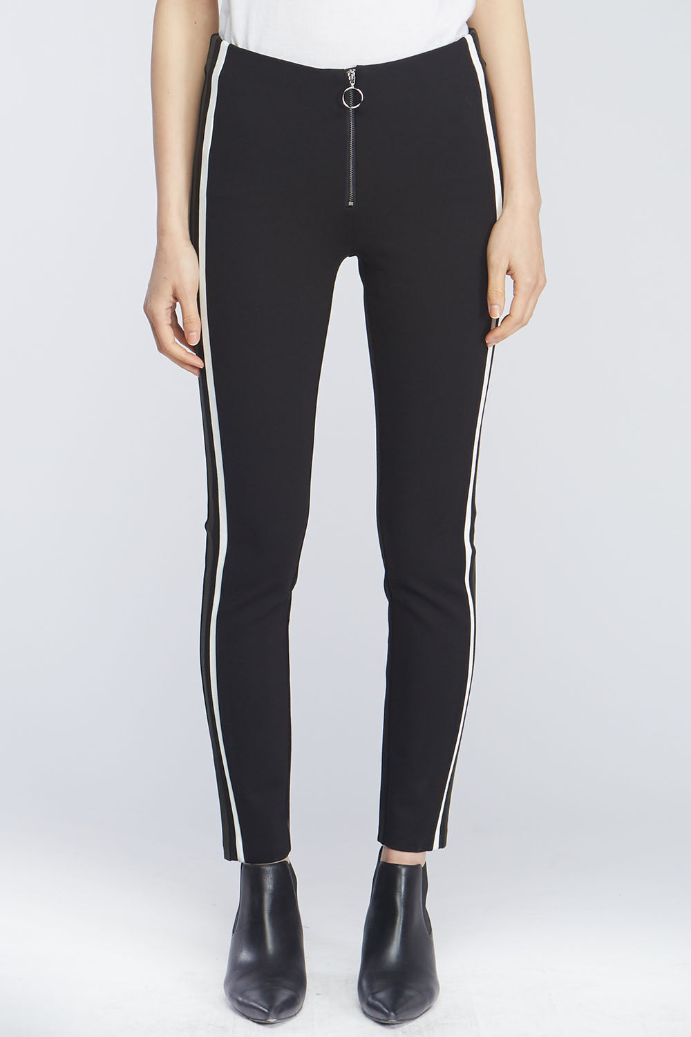 Unity Racer Stripe High-Rise Leggings