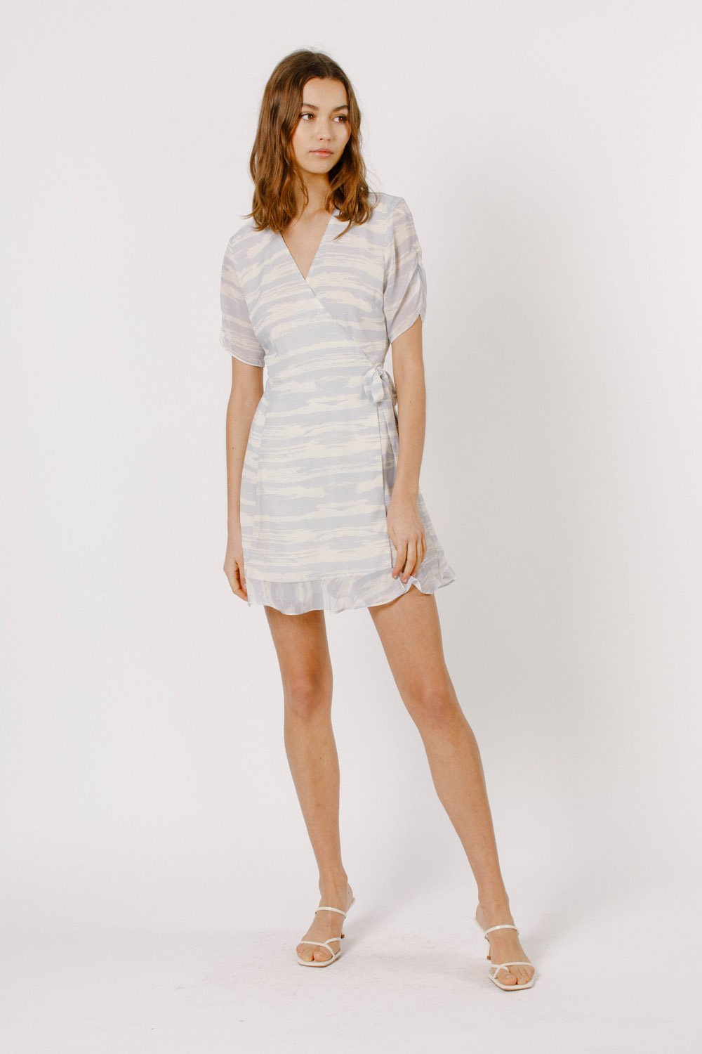 Wrapover Mini Dress