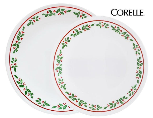 1 Corelle WINTER HOLLY 8 1/2